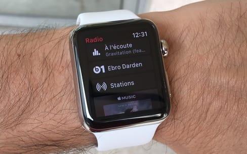 Aperçu d'Apple Music sur Apple Watch : de la musique plein le poignet