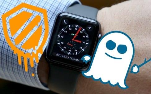 L'Apple Watch n'est pas touchée par les failles Meltdown et Spectre