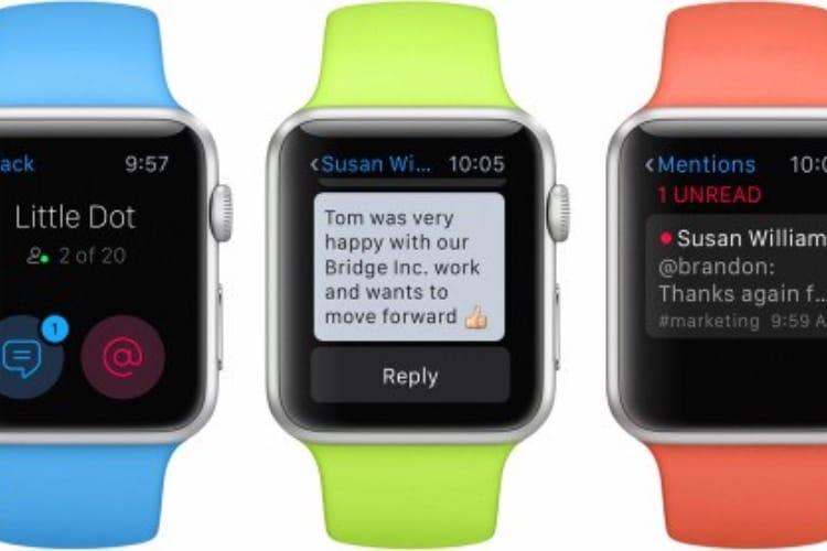 Slack supprime son application pour Apple Watch