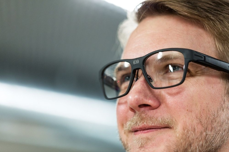 Vaunt, les lunettes connectées d'Intel n'ont pas l'air gadget