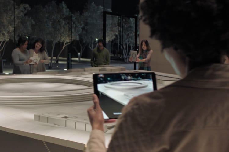 Apple met en avant des expériences de réalité augmentée sur son site