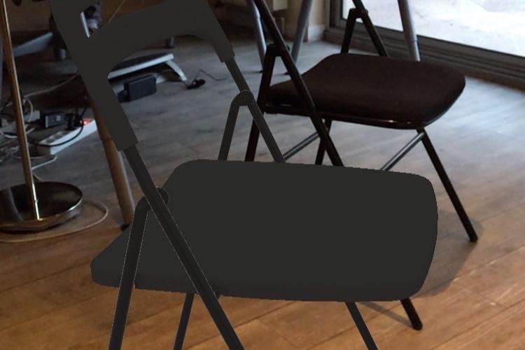 IKEA Place cherche des meubles qui ressemblent aux vôtres