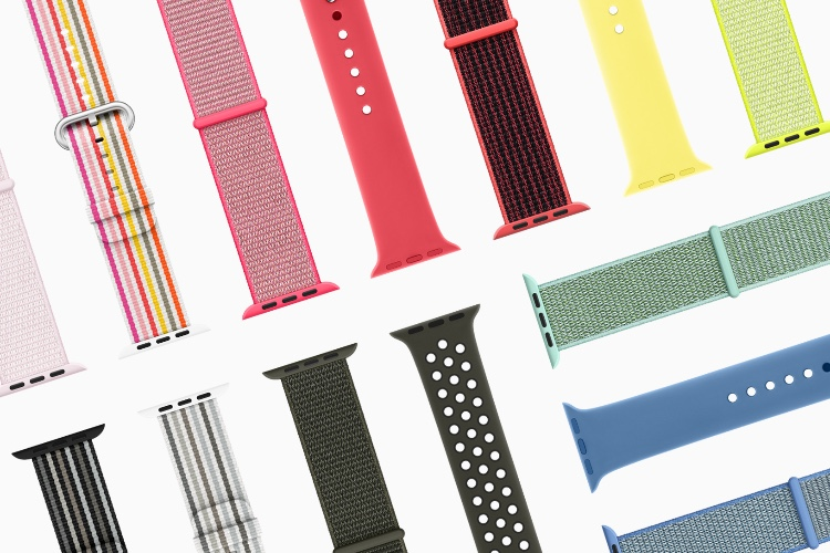 Bracelets Apple Watch : voici la collection printemps 2018