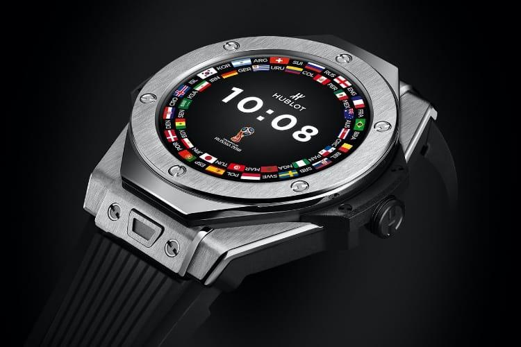 Hublot : une première montre sous Wear OS pour les fortunés fans de foot