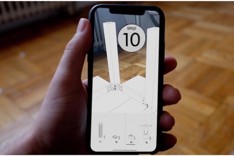 AssembleAR, la réalité augmentée pour aider à monter les meublesIKEA