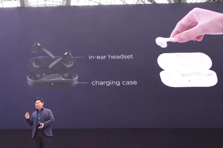 Les Huawei P20 ont leurs AirPods disponibles en blanc et noir