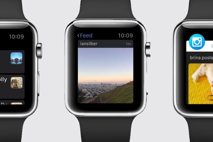 Instagram abandonne son application pour Apple Watch