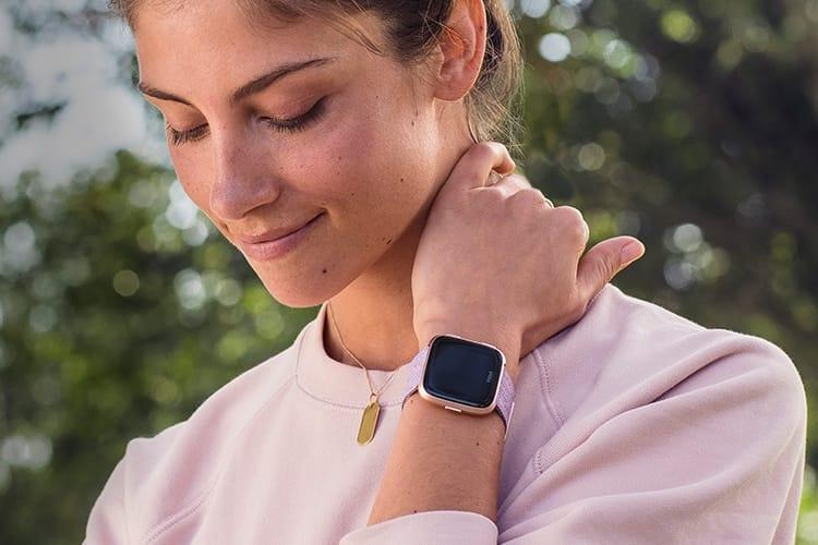 Fitbit active la fonction de suivi de la santé féminine pour la Versa et la Ionic