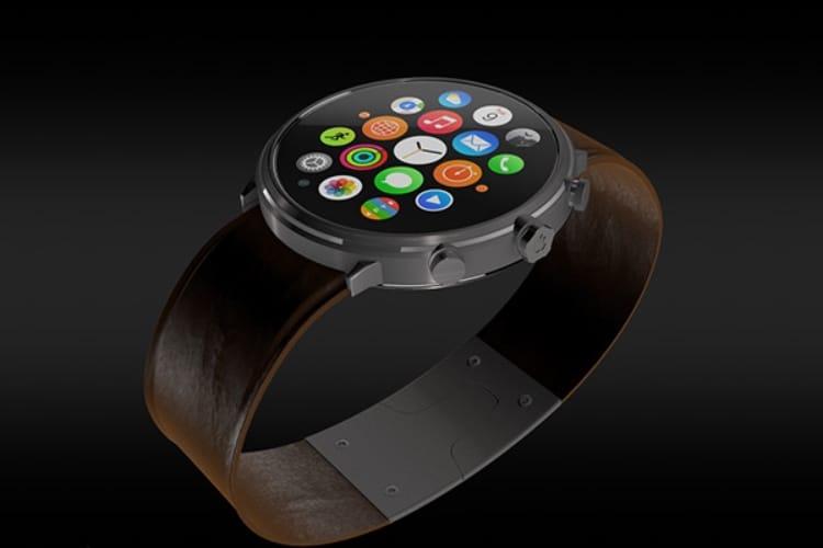 Brevet : malgré une Apple Watch carrée, Apple s'intéresse toujours aux écrans ronds