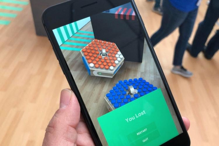 ARCore 1.2: Google rend la réalité augmentée multijoueur et multiplateforme