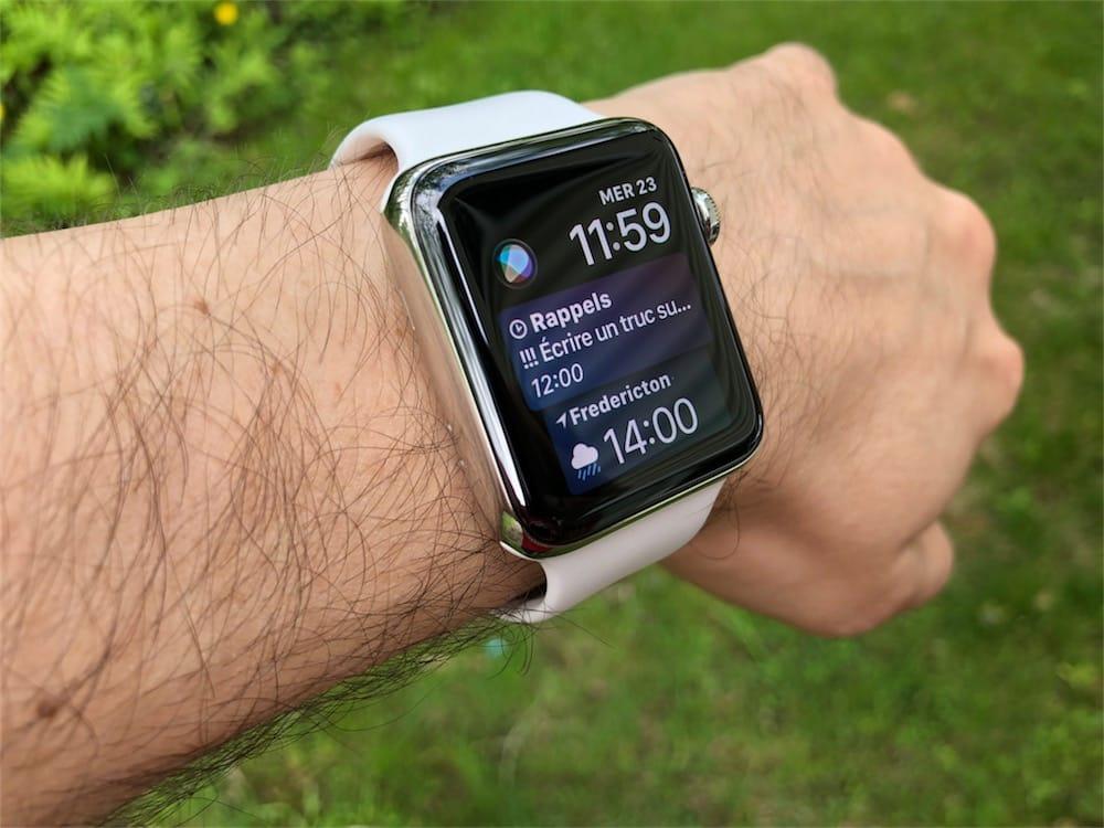 Cadran Siri : tout savoir sur l\u002639;assistant int\u00e9gr\u00e9 \u00e0 l\u002639;Apple Watch WatchGeneration