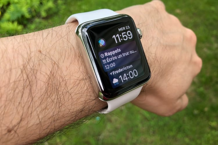 Cadran Siri : tout savoir sur l'assistant intégré à l'Apple Watch