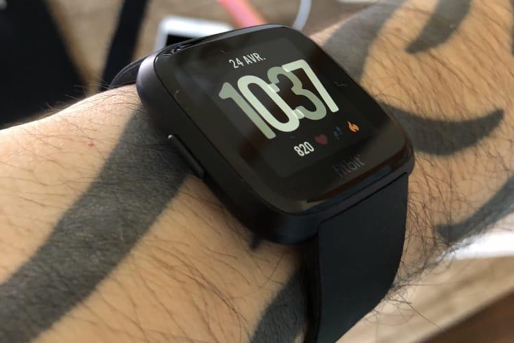 Fitbit se réjouit d'avoir livré plus d'un million de Versa
