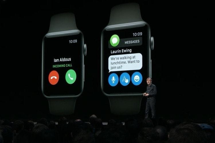 watchOS 5 abandonne la première génération d'Apple Watch