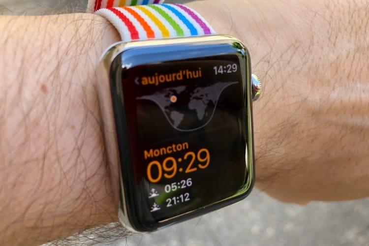 watchOS 5 : des horloges mondiales à ajouter depuis l'Apple Watch