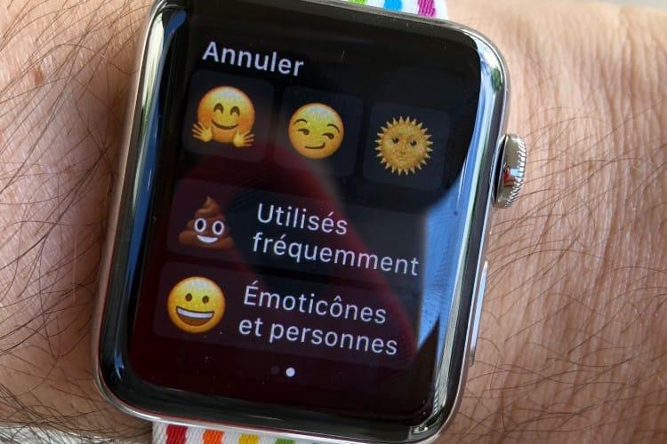 watchOS 5 facilite la recherche d'émojis😆 mais supprime les smileys animés😱