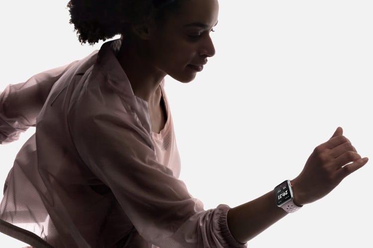 150€ de rabais sur des Apple Watch Series3 cellulairesNike+